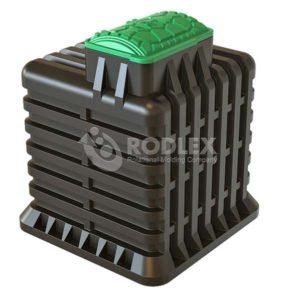 Бесшовный погреб пластиковый Тортила для высокого уровня грунтовых вод.