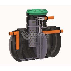 Станция очистки сточных вод BioBox Aero5_канализация без откачки